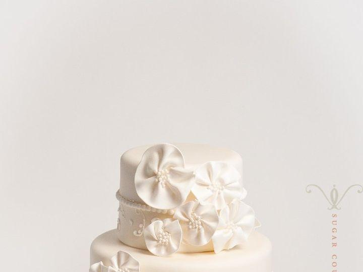 Tmx 1351178307563 BeckysweddingEdit Brooklyn wedding cake