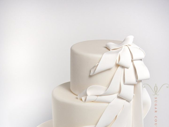 Tmx 1351178337596 DrapecakeEdit Brooklyn wedding cake