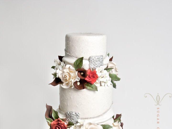 Tmx 1351178432294 JinaEdit Brooklyn wedding cake