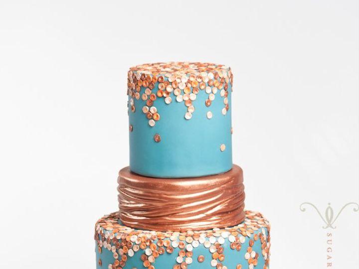 Tmx 1351178465284 Ombreinspired Brooklyn wedding cake