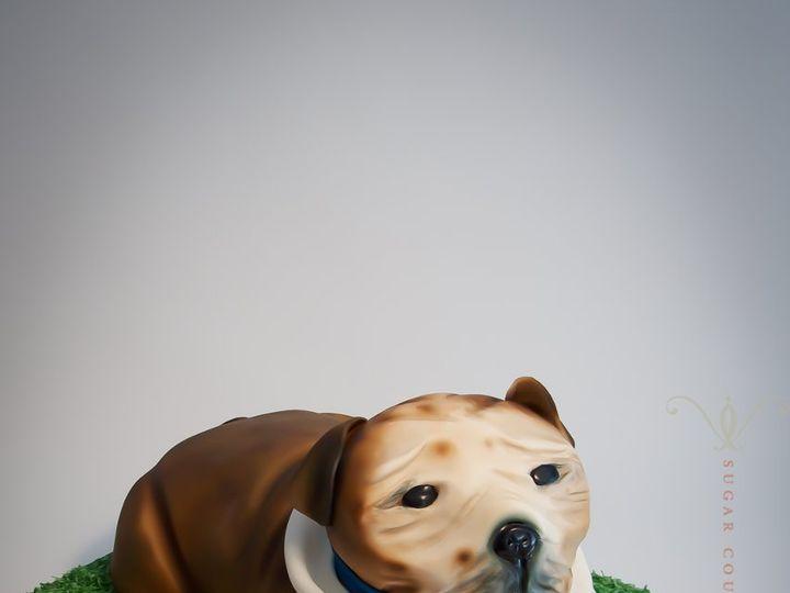 Tmx 1355850087206 Bulldog Brooklyn wedding cake
