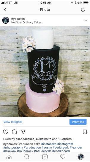 Chalk board monogram wedding
