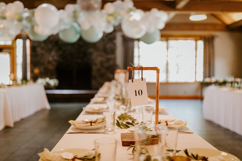 Oregon wedding balloons