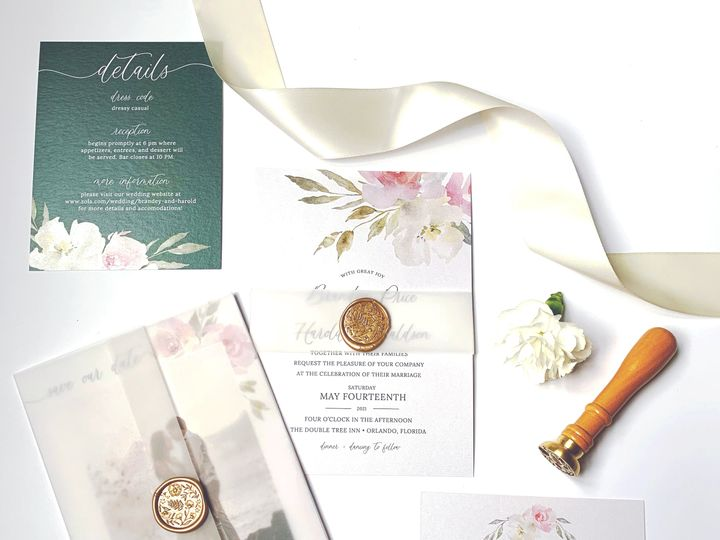 Tmx Edited Swooningoveryou2 51 1981321 160079345051853 Holly Springs, NC wedding invitation