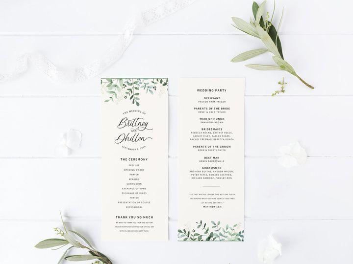 Tmx Il 1588xn 2476856122 Qszd 51 1981321 159969704665172 Holly Springs, NC wedding invitation