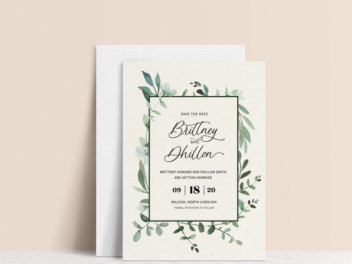 Tmx Il 1588xn 2514421483 8iko 2 51 1981321 159969704695131 Holly Springs, NC wedding invitation