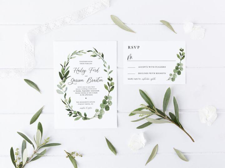 Tmx Laurelsage Invitersvp 51 1981321 159846936782640 Holly Springs, NC wedding invitation