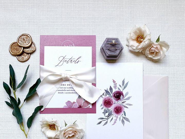 Tmx Site 51 1981321 160252167684277 Holly Springs, NC wedding invitation