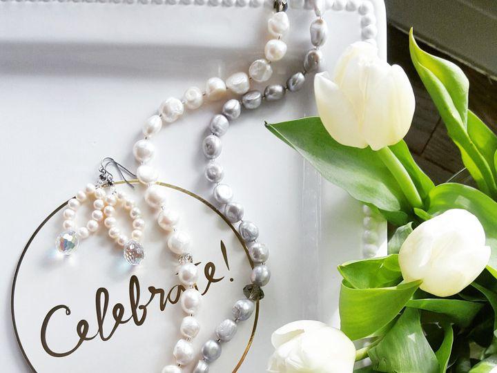 Tmx 1460051709676 Grey White Fw Peal Nk Celebrate West Chester wedding jewelry