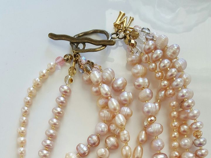 Tmx 1460051776008 Rose Qtz Fw Pearl Nk Full West Chester wedding jewelry