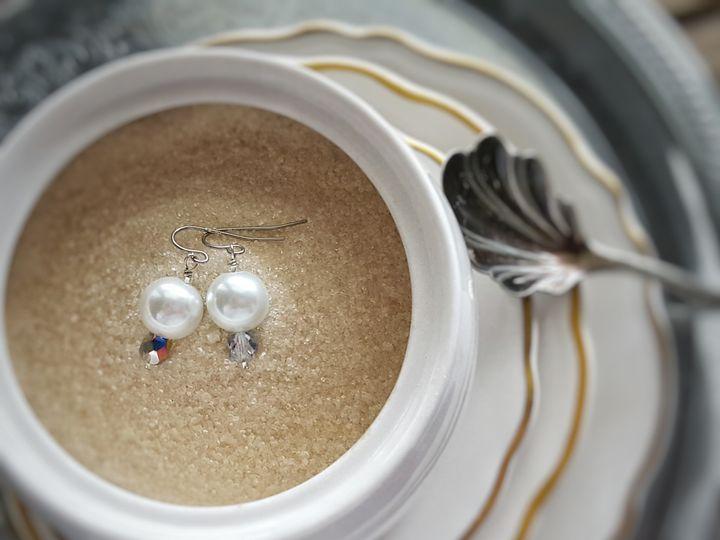 Tmx 1460052842431 Sugar Swarovski Pearl Ears West Chester wedding jewelry
