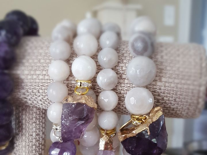 Tmx 1531150247 Bd777ed0b25b688b 1531150244 7bd2f5ceb38e225f 1531150242737 2 Amethyst Nuggets C West Chester wedding jewelry