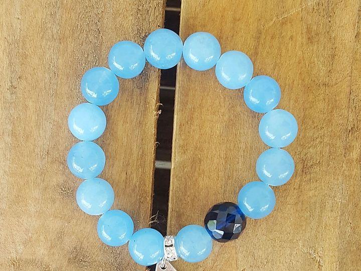 Tmx 1531150710 1ae3d2c547000a25 1531150708 6f8f9e91282e5d99 1531150706176 4 Mary Medal Sky Blu West Chester wedding jewelry