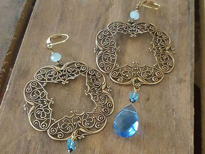Tmx 1531150972 4dd37f61f2b2857c 1531150968 49884d21b8106402 1531150966375 9 Vtg Filigree Brass West Chester wedding jewelry