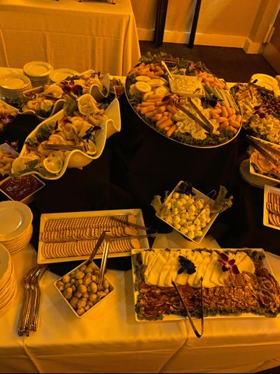 Chilled Appetizer Display