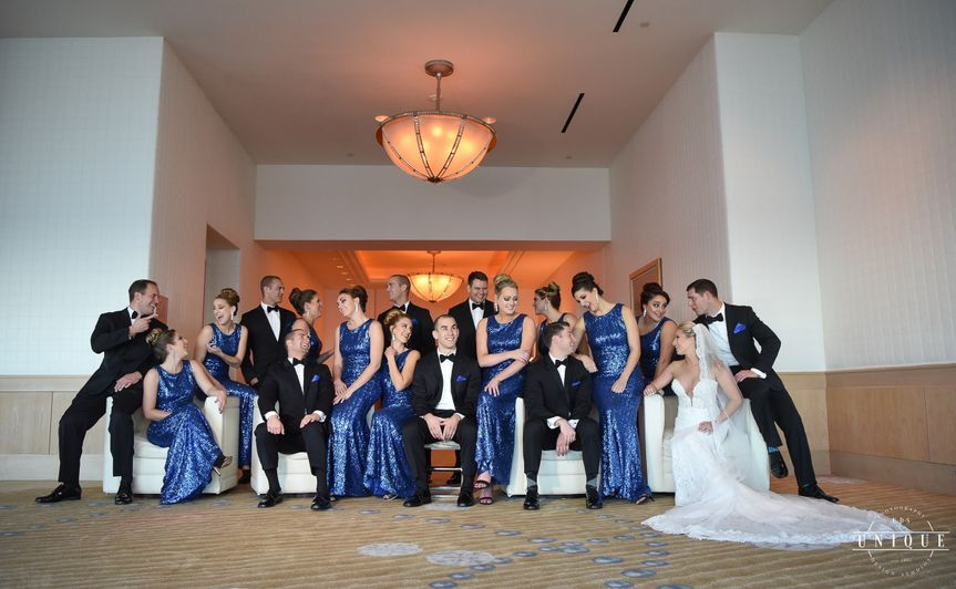 Vogue Style Wedding Party