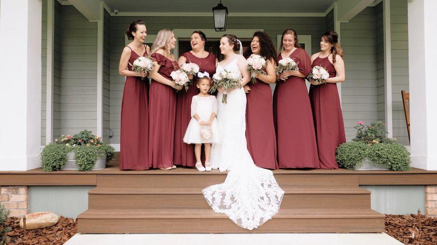Milena + Casey - Bridal Party