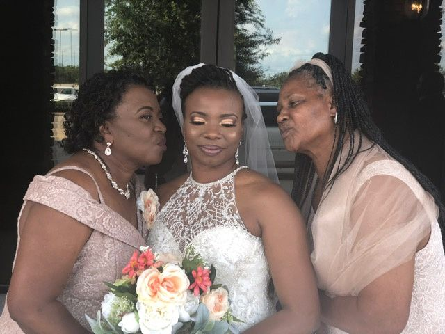 Mothers and bride