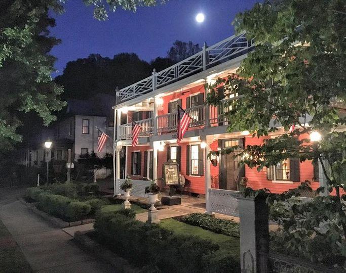 Exterior view of The Buxton Inn