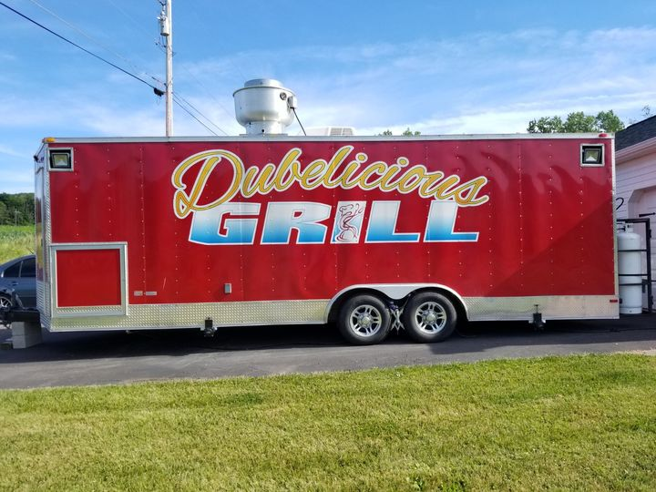 Dubelicious Grille catering truck