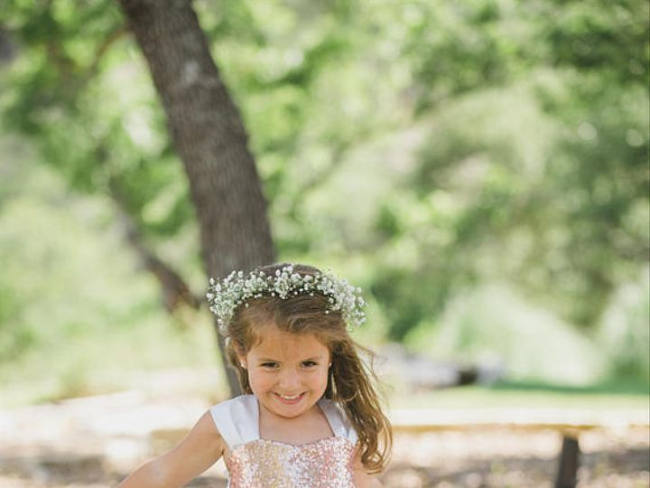 Tmx Gold Sequined Flower Girl Dress 1 51 497321 Longwood, FL wedding dress