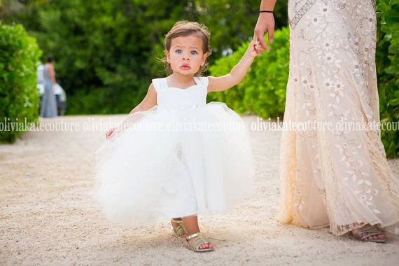 Tmx Ivory Toddler Flower Girl 51 497321 Longwood, FL wedding dress