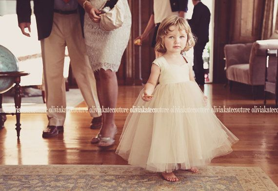 Tmx Natural Champagne Flower Girl Dress 1 51 497321 Longwood, FL wedding dress