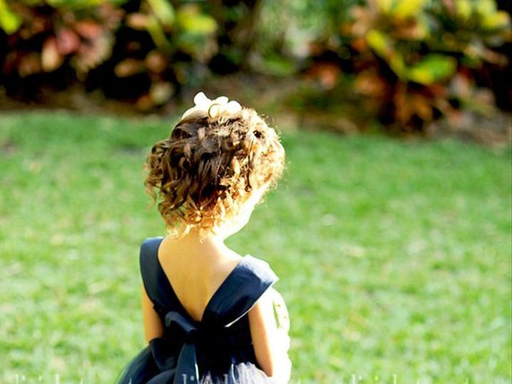 Tmx Navy Flower Girl Dress 51 497321 Longwood, FL wedding dress