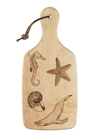 sea life cutting board