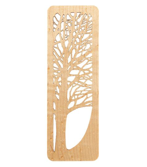 sugar maple tree bookmark