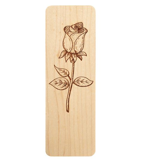rose bookmark maple