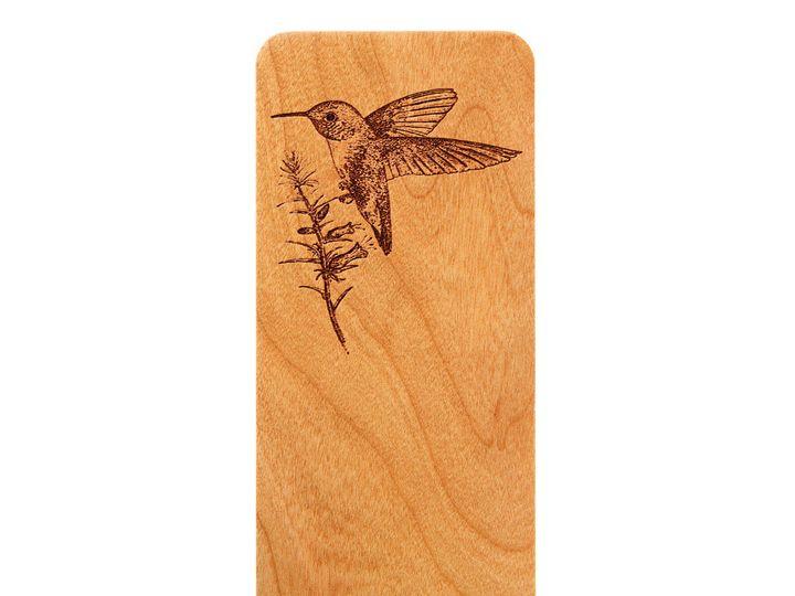 Tmx 1467331415123 Hummingbird Bookmark Cherry Antrim wedding favor