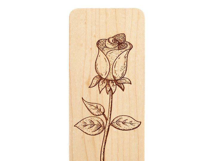 Tmx 1467331475596 Rose Bookmark Maple Antrim wedding favor