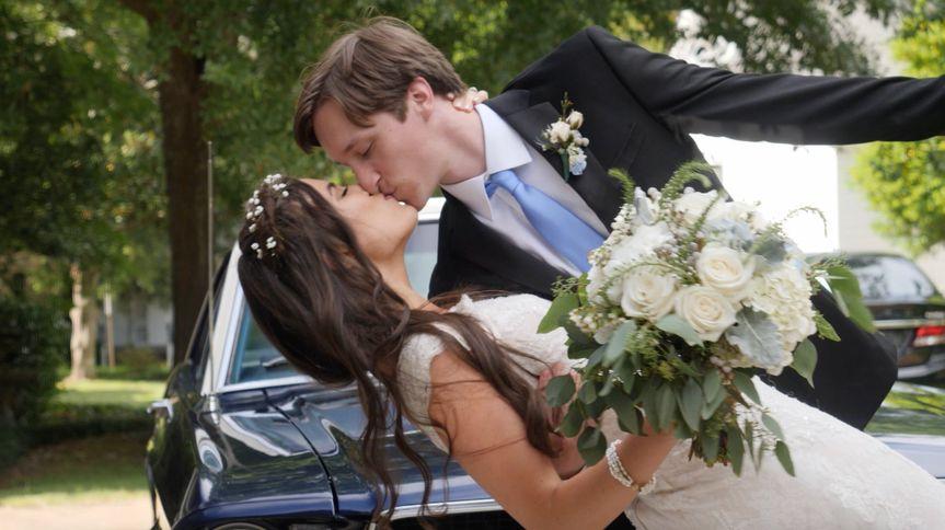 Newlyweds swooning