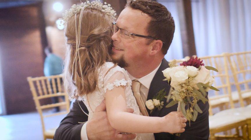 Father/Daughter hug