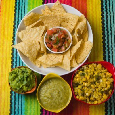 Freshest salsas and the best guacamole