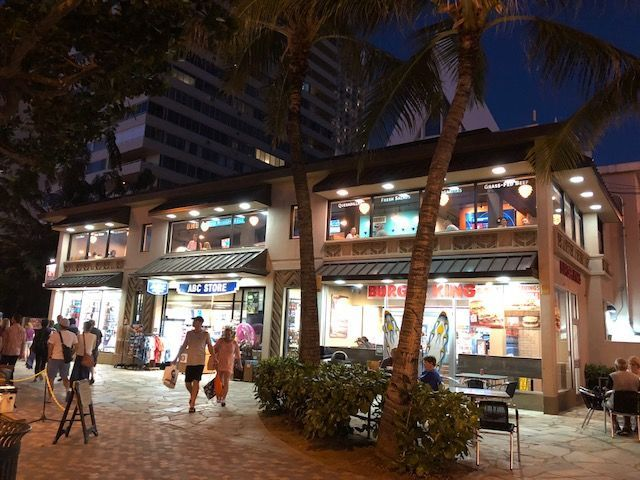 Located on the Waikiki strip