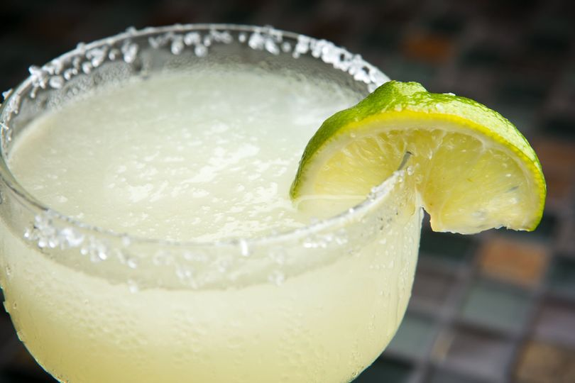 Fresh, homemade frozen margaritas