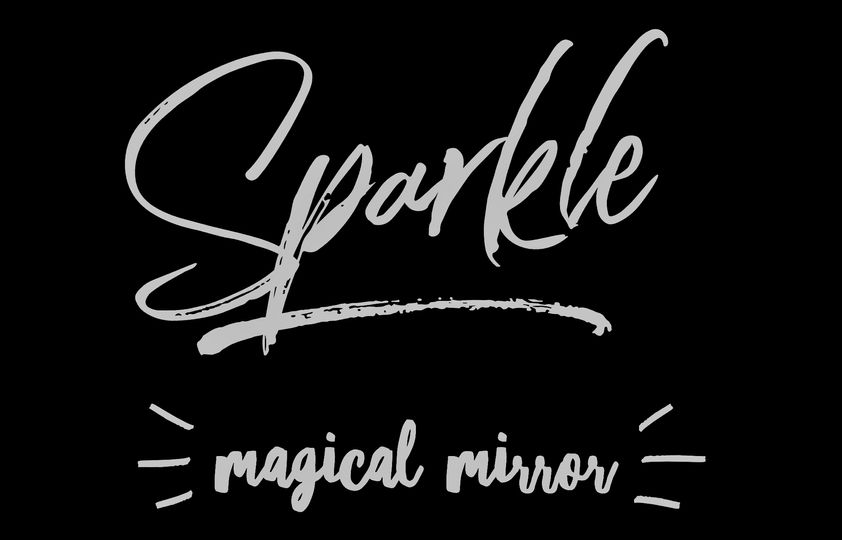 Sparkle magical mirror
