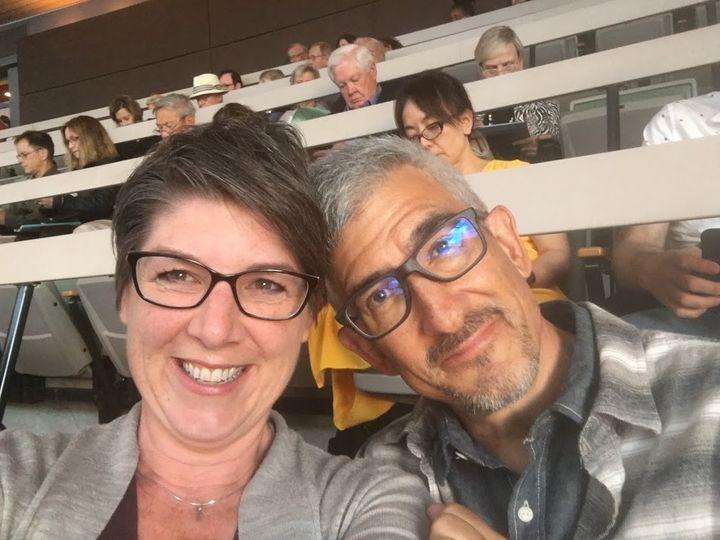 Santa Fe Opera with husband