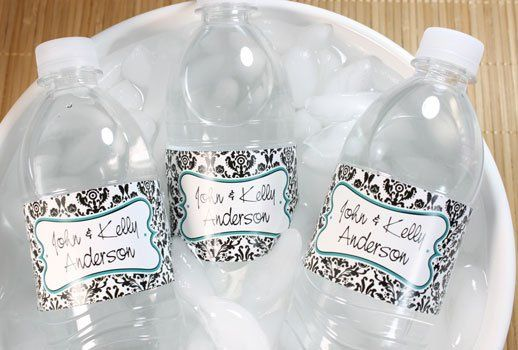Tmx 1327358204088 Waterbottlepicturedamask Shelton wedding favor