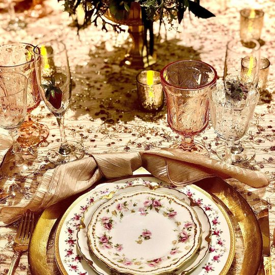 Plates, flatware and more