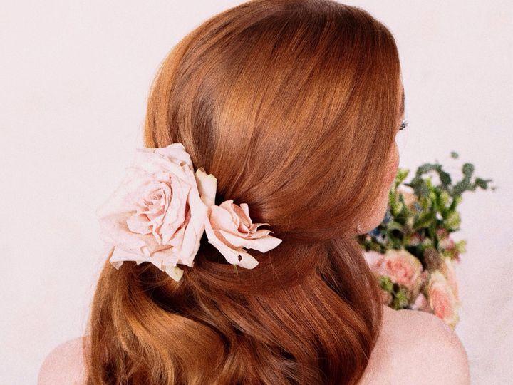 Tmx Rosehairstyle 51 472421 1572925649 Easton, Pennsylvania wedding beauty
