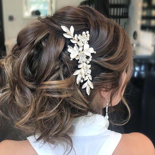 Glam Bridal Hair & Accessory