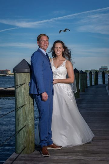 The happy couple - Louis View Photography