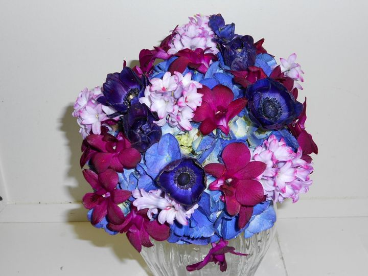 Close up picture of bouquet