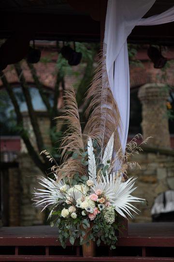 Ceremony centerpiece