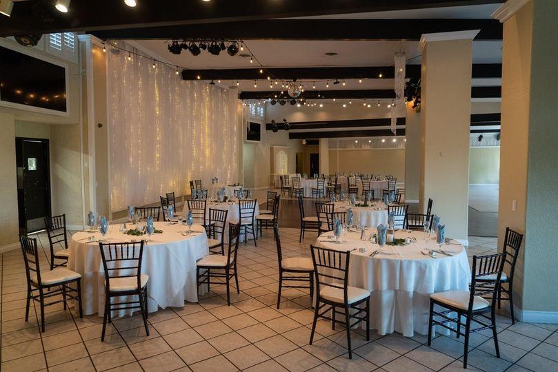 Elegant indoor space