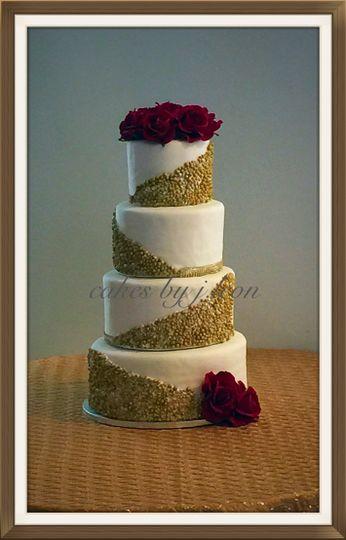 800x800 1430331245235 Gold Beaded Cake ...