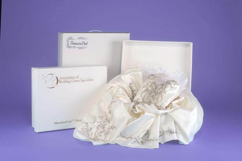 Boxed Wedding dress